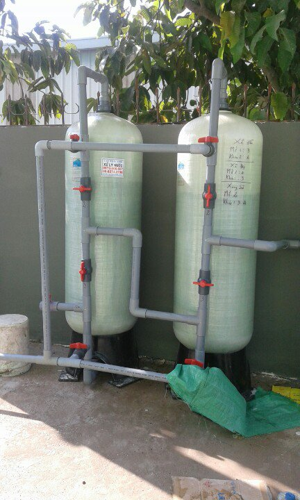 bình lọc nước phèn tại bình chánh giáp đức hòa long an