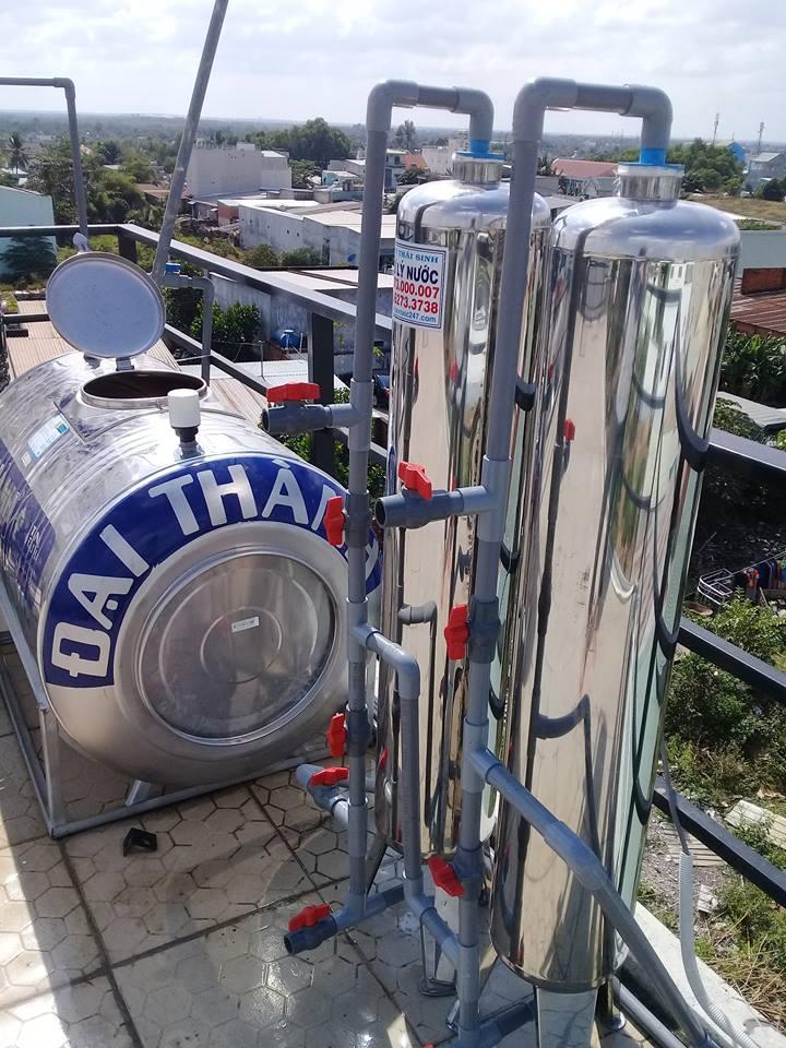 bộ lọc nước thô cho giếng khoan phèn ở quận 9 ,10,11,12,hóc môn