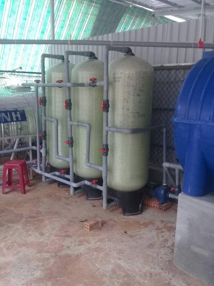 bộ xử lý nước giếng khoan phèn ở thủ đức, cá sấu hoa cà