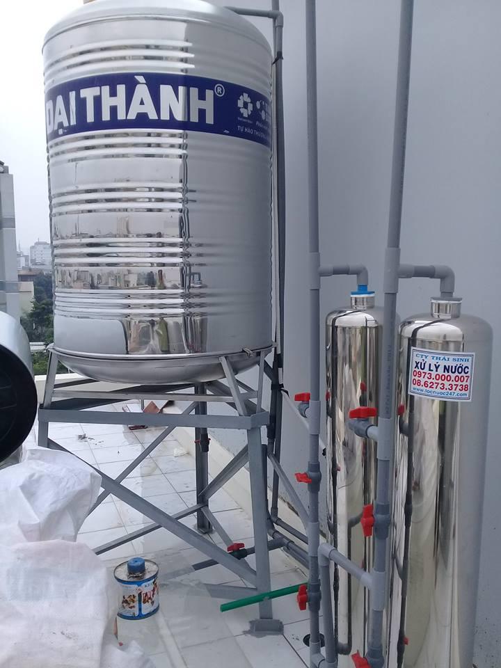 các loại lọc thô bình lọc thô cột lọc thô xử lý thô nước giếng khoan phèn nước máy vàng