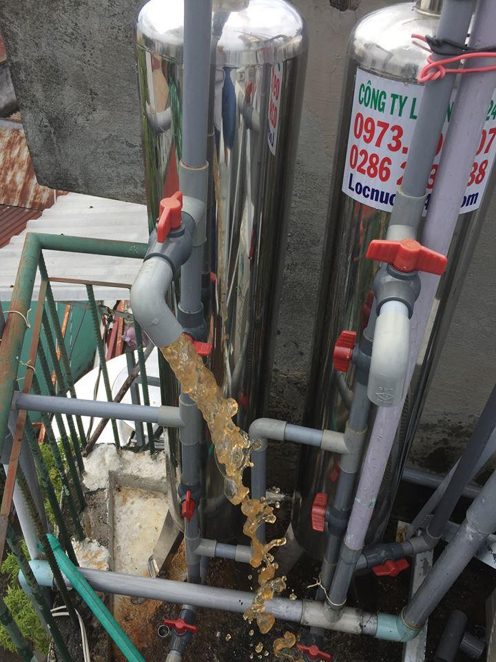 giá bộ lọc nước phèn giếng khoan như thế nào loại tốt