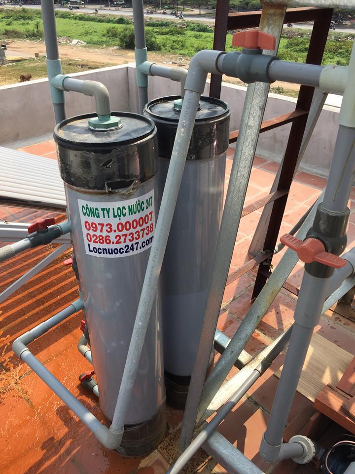 nước giếng khoan bị phèn nên dùng loại bộ lọc nước phèn nào