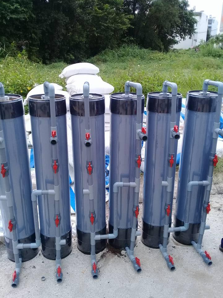 xử lý nước phèn bình lọc phèn giá rẻ tốt bền