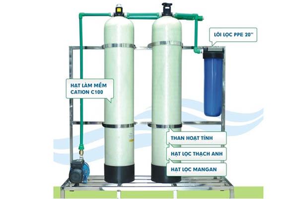 Xử lý nước giếng khoan một cách hiệu quả