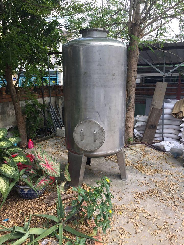bình lọc nước công nghiệp inox hoặc composite