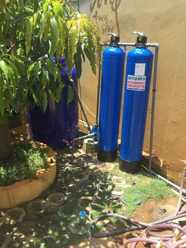 bình này xử lý nước sinh hoạt đảm bảo an toàn cho gia đình công ty sach phèn
