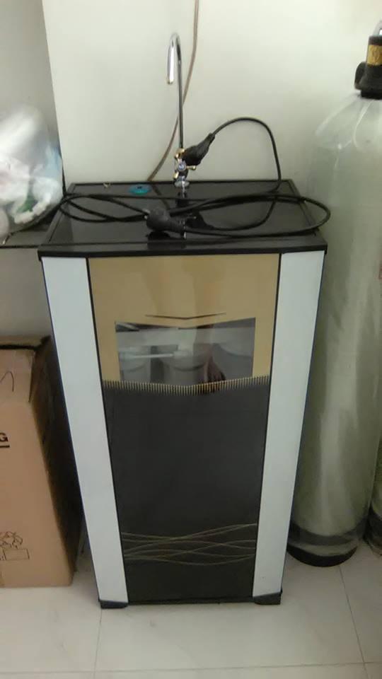 hệ thống xử lý nước giếng nhiễm phèn mùi hôi màu vàng