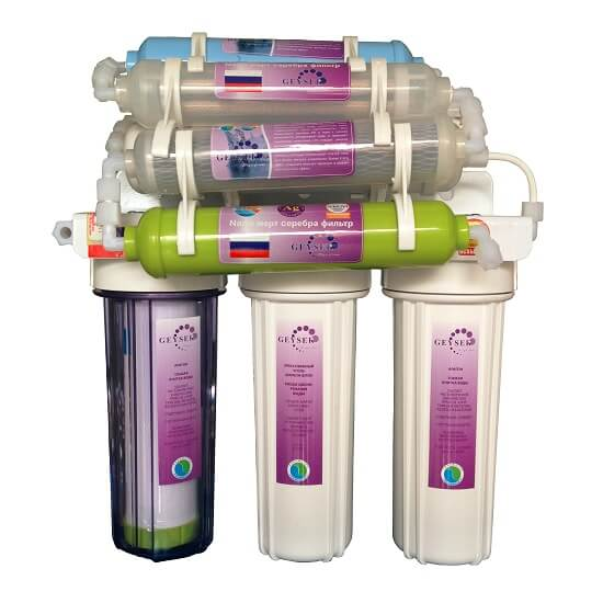 máy lọc nước nano uống ngay cho gia đình 8 cấp lọc