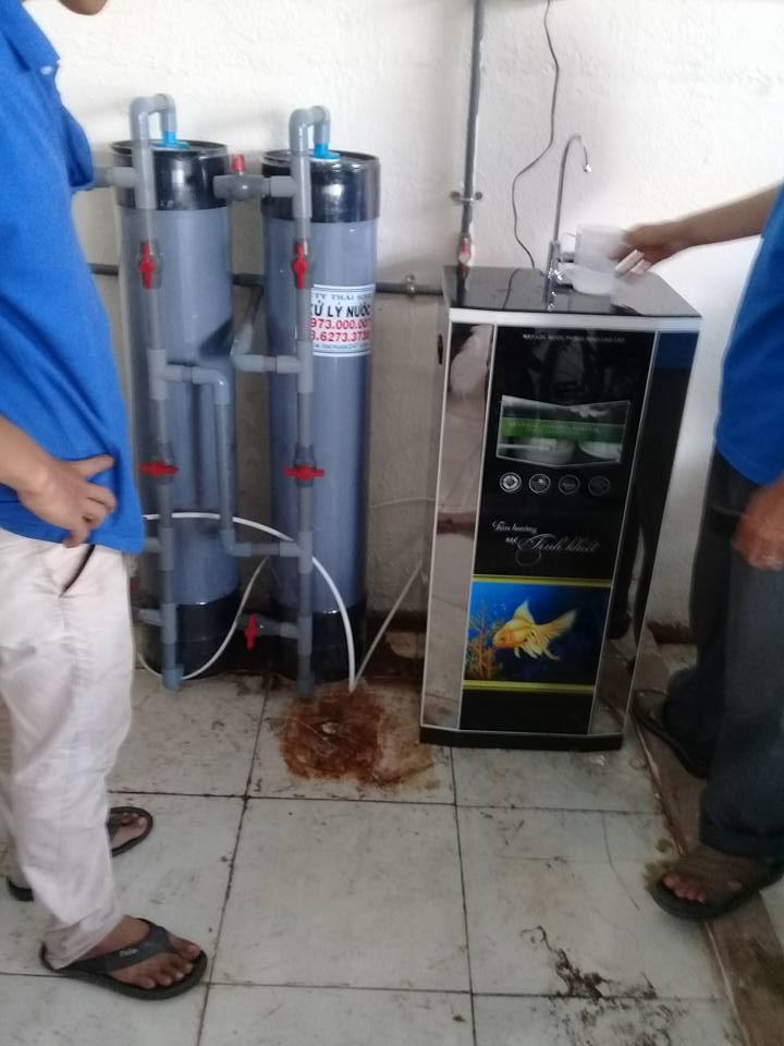 máy lọc nước uống Ro cho công ty xí nghiệp uống gia đình