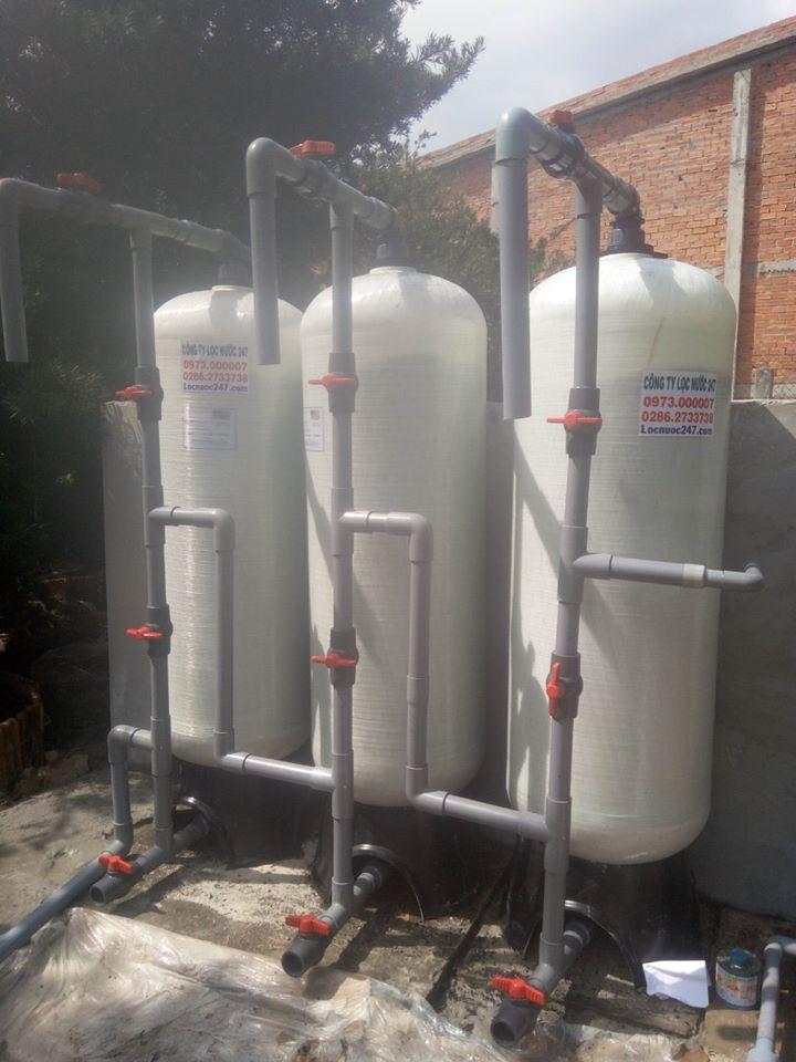 xử lý nước phèn bình chánh nước phèn hôi vàng tanh cặn
